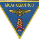 USMC MCAF Quantico Marine Corps Air Facility Patch