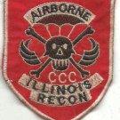 US Army RT Illinois CCC Recon Airborne Vietnam War Patch