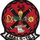 USMC MALS-16 Marine Aviation Logistics Squadron Patch