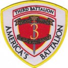 USMC 3rd Battalion 3rd Marines Patch