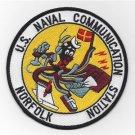 US Navy Naval Communication Station Norfolk VA Patch
