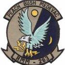 USMC HMM-263 Marine Medium Helicopter Squadron Peach Bush Patch