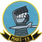USMC MABS-13 Marine Air Base Squadron Patch