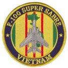 USAF F-100 Super Sabre Vietnam Patch