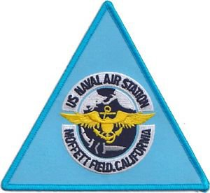 USMC NAS Moffett Field Naval Air Station Patch