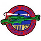 US Army 119th Aviation Assault Helicopter Company Military Patch GATORS