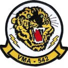 USMC VMA-542 Marine Attack Squadron Tigers Patch