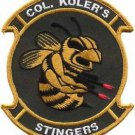 USMC UH-34D Helicopter Stingers Lt Col. Koler Patch