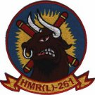 USMC HMRL-261 Marine Helicopter Transport Squadron (Light) Patch