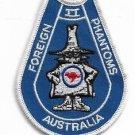 Foreign Air Force AF Australia F-4 Phantom II Patch