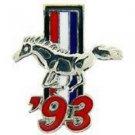 Ford Mustang Logo 1993 Pin