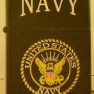 Polished Chrome US Navy Emblem Lighter