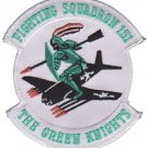 USMC VMF 151 Marine Fighter Squadron The Green Knight Patch