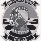US Navy HSL-46 Grandmaster Helicopter Squadron Patch