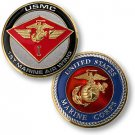 1st Marine Air Wing Challenge Coin