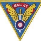 USMC MAG 41 Marine Aircraft Group Patch