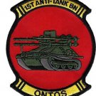 USMC 1st Anti-Tank Battalion ONTOS Patch
