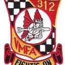USMC VMFA 312 Marine Fighter Attack Squadron Military Patch
