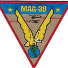 USMC MAG 39 Marine Aircraft Group Patch
