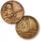 Yellowstone National Park - Colter Challenge Coin