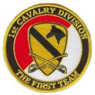 United States Army 1st Cavalry Division Patch with Sabres