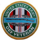 US Army CIB OEF Veteran Patch