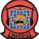 USMC MASS-1 Marine Air Support Squadron Patch