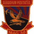 USMC MAG-36 Marine Aircraft Group Patch