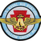 USMC NAS Willow Grove Naval Air Station Pa. Patch is darker blue