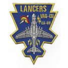 US Navy VAQ-131 Electronic Attack Squadron 131 EA-6B Lancers Patch