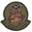 USAF 61st Tactical Fighter Squadron Vintage Patch