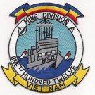 US Navy MSB-112 Mine Division 112 Vietnam Patch