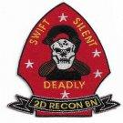 USMC 2nd Recon Battlion Swift Silent Deadly Patch