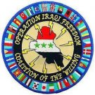 Operation Iraqi Freedom OIF Coalition of the Willing Patch