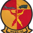 USMC MABS-24 Marine Air Base Squadron Patch