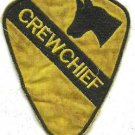 US Army Infantry 1st Cavalry - Crewchief Military Insignia Vietnam War Patch