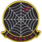 USMC MACS-4 Marine Air Control Squadron Patch