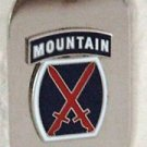 US Army 10th Mountain Division Dog Tag
