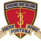 USMC 2nd Battalion, 3rd Marines Patch