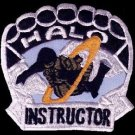 US Army Military Freefall School HALO Parachutist Instructor Patch