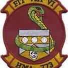 USMC HMA-773 Marine Attack Helicopter Squadron Fit Via Vi Patch