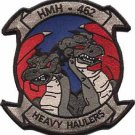 USMC HMH-462 Marine Heavy Helicopter Squadron Heavy Haulers Patch