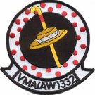 USMC VMA(AW)-332 Marine All-Weather Attack Squadron Moonlighters Patch