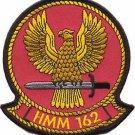 USMC HMM-162 Marine Medium Helicopter Squadron Golden Eagles Patch