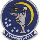 USMC VMF(AW) 531 Marine All-Weather Fighter Squadron Patch