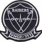 USMC VMGR-352 Marine Aerial Refueler Transport Squadron Raiders Patch