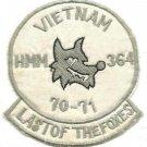 USMC Medium Helicopter Squadron HMM-364 CH-46 Helicopter Vintage Vietnam Patch