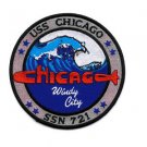 US Navy Submarine SSN-721 USS CHICAGO - Windy City