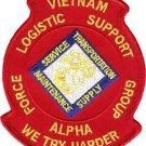 USMC FLSG Alpha Force Logistics Support Group Alpha Patch