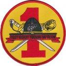 USMC 1st Recruit Training Battalion Parris Island SC. Patch